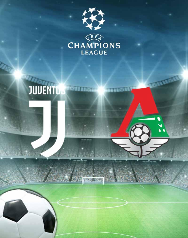 Juventus vs Lokomotiv Moskva