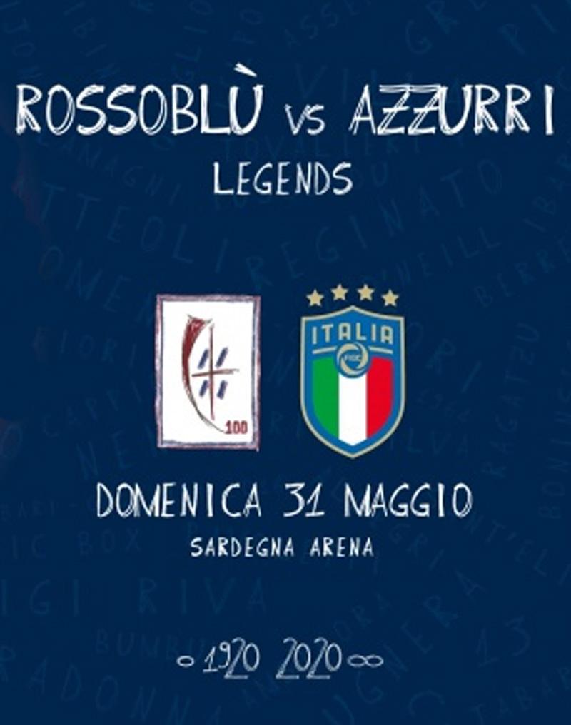 Rossoblù Legend vs Azzurri Legends