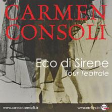 foto ticket Carmen Consoli
