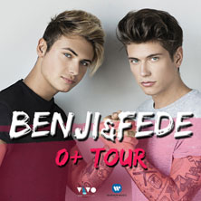 foto ticket Benji & Fede