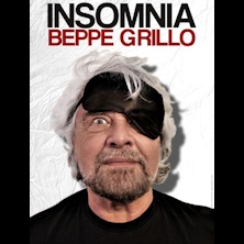 foto ticket Beppe Grillo in INSOMNIA
