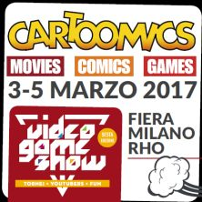 foto ticket Cartoomics 2017
