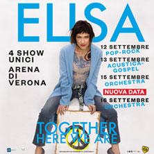 foto ticket Elisa ORCHESTRA