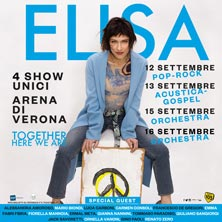 foto ticket Elisa ACUSTICA - GOLD Package