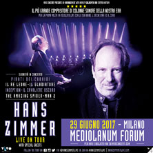 Hans Zimmer And His Band - Biglietti
