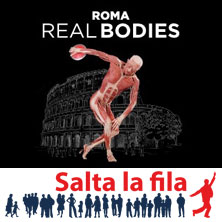 foto ticket Real Bodies - Scopri il corpo umano