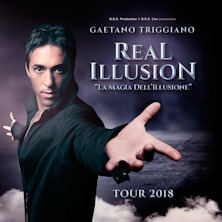 foto ticket REAL ILLUSION con Gaetano Triggiano