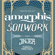 Amorphis + Soilwork + Jinjer + Nailed To ObscurityTrezzo sull'Adda