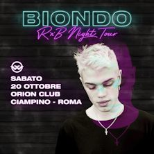 Biondo Rnb Night TourCiampino