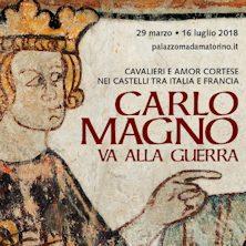 foto ticket Carlo Magno va alla guerra