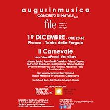 Il carnevale, augurinmusica - concerto di Natale per FILEFirenze