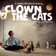 Clown and the cats
