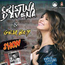 Cristina D'Avena e Gem BoyBologna