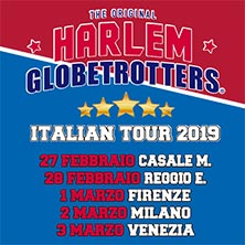 Harlem Globetrotters Italian Tour 2019Venezia