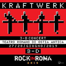 Kraftwerk 3D - Rock in Roma