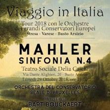 MAHLER - SINFONIA N.4 - Viaggio in ItaliaVarese