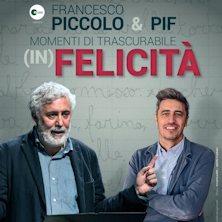 Francesco Piccolo in Momenti di trascurabile (in) felicita'Palermo