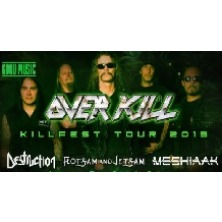KILLFEST TOUR: Overkill + Destruction + Flotsam and JetsamFontaneto d'Agogna