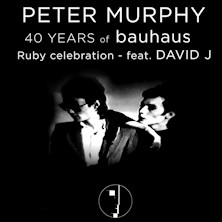 Peter Murphy 40 Years of BAUHAUSCiampino