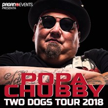 Popa Chubby Two Dogs World Tour 2018Treviso