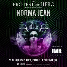 Protest the hero + Norma Jean + guest