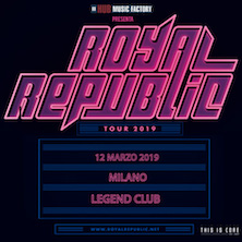 Royal Republic + GuestMilano