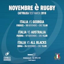 ITALIA VS AUSTRALIA - Cattolica Test Match 2018Padova