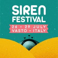 Abbonamento 2 giorni Siren Festival 2018