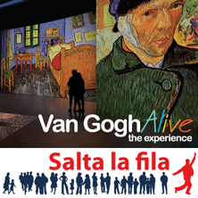 foto ticket Van Gogh Alive - The Experience