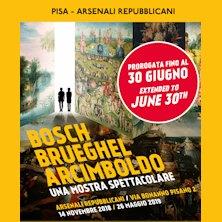 Bosch Brueghel Arcimboldo Una mostra Spettacolare