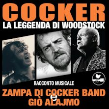 Gio' Alajmo e Zampa di Cocker Band in Cocker - La Leggenda di Woodstock