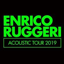 Enrico Ruggeri in Acoustic Tour 2019