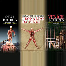 Open 2 mostre Leonardo + Real Bodies