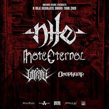 Nile + Hate Eternal + Vitriol