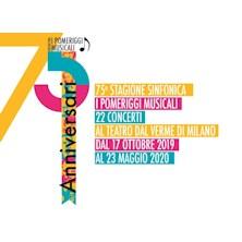 Orchestra I Pomeriggi Musicali - Concerti Giovedi 2019/20