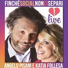 Katia Follesa e Angelo Pisani in Finche' Social non ci Separi
