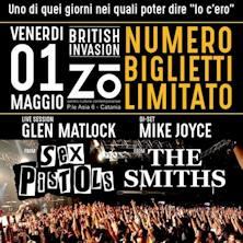 1° Maggio - Glen Matlock /Sex Pistols - Mike Joyce /The Smiths