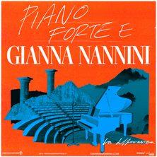 Biglietti Evento Gianna Nannini - Pianoforte e Gianna - CASTIGLIONCELLO