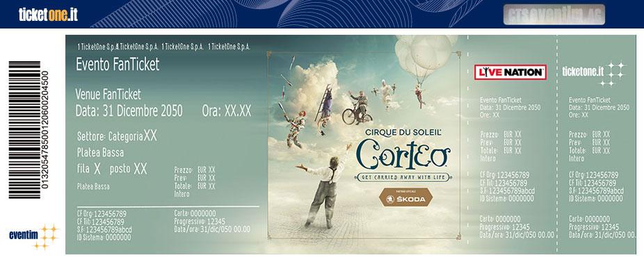 cirque du soleil italiano  Cirque du Soleil TORINO 26/09/19 Tickets - TicketOne
