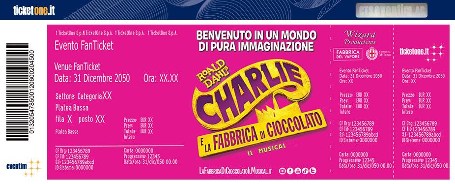 Calendario Rimborsi Qui Ticket 2020.Charlie E La Fabbrica Di Cioccolato Milano 16 11 19 Tickets