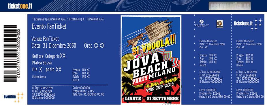Calendario Rimborsi Qui Ticket 2020.Jovanotti Tickets Ticketone