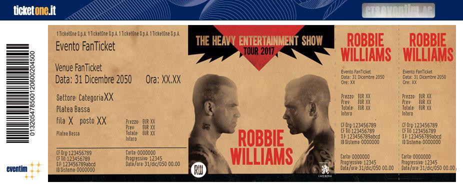 artist robbie williams tickets