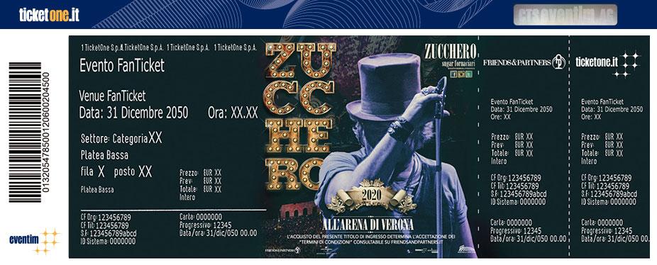 Calendario Arena Verona 2020.Zucchero Arena Di Verona