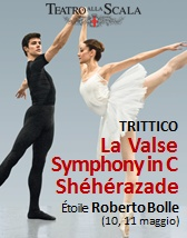 Balletto La Valse/Sinfonia in do/Sheherazade