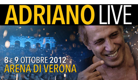 ADRIANO CELENTANO: NEWS (giornali, televisione, multimedia, ecc...) Adrianolive-biglietti